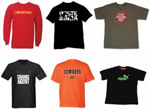 T-Shirt Marks