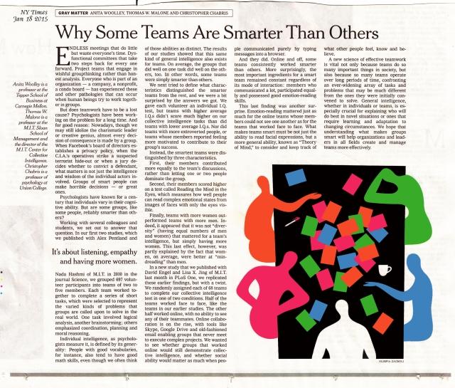 NYT-TeamsSmarter